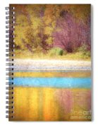 A Pastel Autumn Spiral Notebook