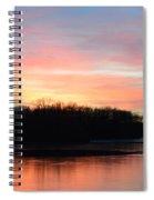 A Pastels Eve Spiral Notebook
