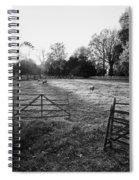 A Pasture Scene  Spiral Notebook