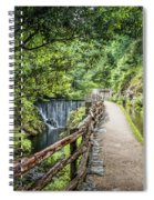 A Path Between Two Waters Spiral Notebook