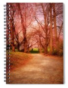 A Path To Fantasy - Holmdel Park Spiral Notebook