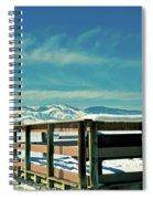 A Peaceful Pier Spiral Notebook