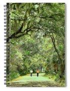A Peaceful Walk Spiral Notebook