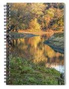 A Peak At Autumn Spiral Notebook
