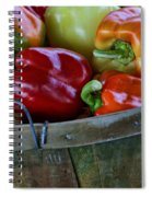 A Peck Of Peppers Spiral Notebook
