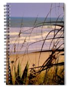 A Peek At The Shore Spiral Notebook