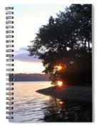 A Peek Of Light Spiral Notebook