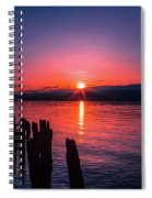 A Pend Oreillle Sunrise Spiral Notebook