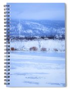 A Penticton Winter Spiral Notebook