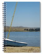 A Perfect Day For Sailing Spiral Notebook
