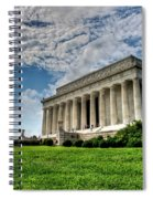 A Perfect Day In Washington Spiral Notebook