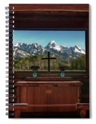 A Pew With A View Spiral Notebook