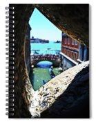 A Piece Of Venice Spiral Notebook