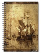 A Pirate Looks At Forty Schooner Wharf Spiral Notebook