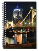 A Pittsburgh Panorama Spiral Notebook