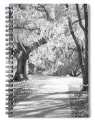A Place For Contemplation Ir Spiral Notebook