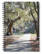 A Place For Contemplation  Spiral Notebook