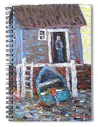 A Place To Get Away From It All Spiral Notebook