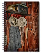 A Place To Keep My Hat Spiral Notebook