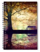 A Place To Rest In The Dark Spiral Notebook
