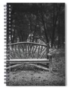 A Place To Sit 6 Spiral Notebook