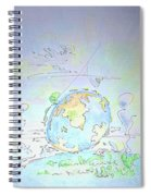 A Planet Remembered Spiral Notebook