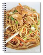 A Plate Of Noodles Spiral Notebook