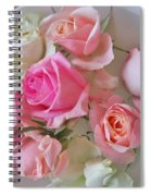 A Plate Of Roses Spiral Notebook