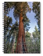 A Poem Lovely As A Tree.   Spiral Notebook