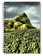 A Pointed Hilltop Spiral Notebook