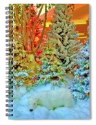 A Polar Bear Christmas 2 Spiral Notebook