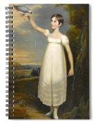 A Portrait Of Ellen Smith Of Nottingham Spiral Notebook