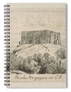 A Powder Magazine In Central Park From Scenes Of Old New York, By Henry Farrer, 1844-1903 Spiral Notebook