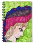 A Pretty Hat Spiral Notebook