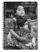 A Proud Sister Bw Spiral Notebook