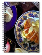 A Provence Luncheon Spiral Notebook