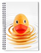 A Quick Dip Spiral Notebook
