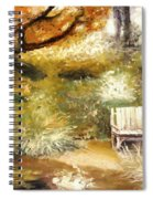A Quiet Place Spiral Notebook