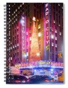 A Radio City Music Hall Christmas Spiral Notebook