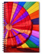 Temecula, Ca - A Rainbow Of Colors Spiral Notebook