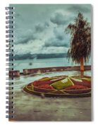 A Rainy Day  Spiral Notebook