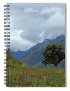 A Rainy Day In The Mountains Of Ecuador Spiral Notebook