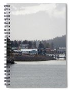 A Rainy Foggy Day In Hoonah Spiral Notebook