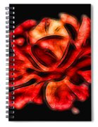 A Red Rose For You 2 Spiral Notebook