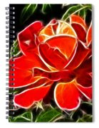 A Red Rose For You Spiral Notebook