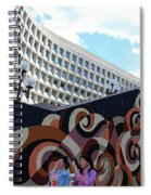 A Mural At L'enfant Plaza Spiral Notebook