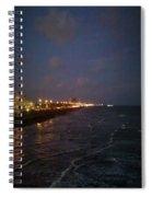 A Relaxing Night Begins Spiral Notebook