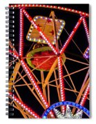 A Ride In The Carousel Spiral Notebook
