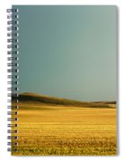 A Rise On The Plains Spiral Notebook