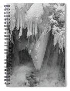 A River Flows, B/w Spiral Notebook